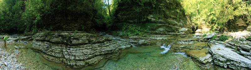 Каньон реки Бешенки